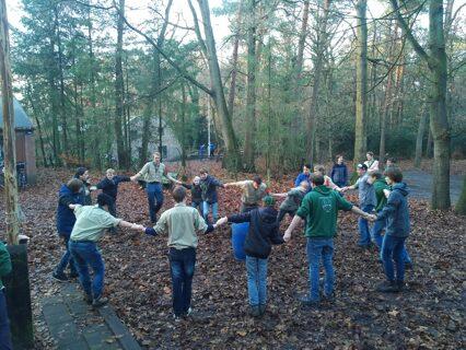 Scouting Hopman Masselman Groep Sinterklaas Opkomst